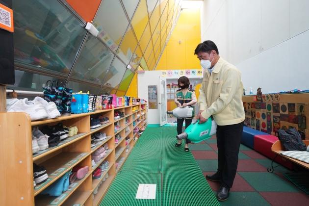 연수구, 생활방역체계 구축 위해 어린이집 방역물품 지원의 1번째 이미지