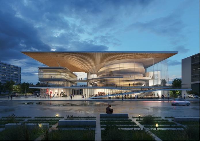 연수구, 연수문화예술회관 건립 설계공모 당선작 선정의 1번째 이미지